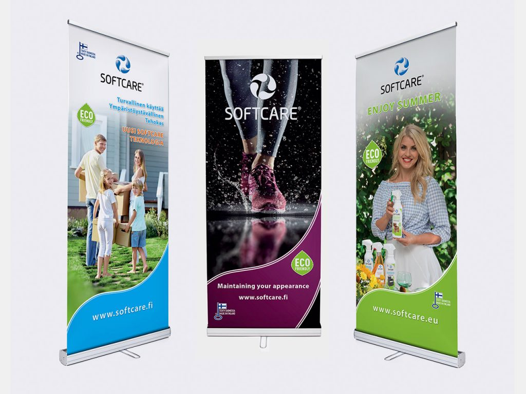 Roll-Up Design Softcare